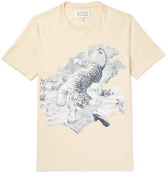 Maison Margiela Slim-Fit Printed Cotton-Jersey T-Shirt