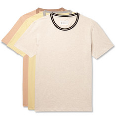 Maison Margiela - Three-Pack Cotton-Jersey T-Shirts