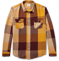 Levi's Vintage Clothing Shorthorn Checked Cotton-Flannel Shirt