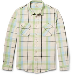 Levi's Vintage Clothing Shorthorn Slim-Fit Checked Cotton-Flannel Shirt