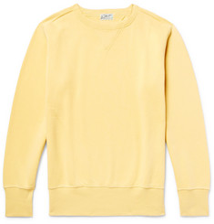 Levi's Vintage Clothing Bay Meadows Loopback Cotton-Jersey Sweatshirt