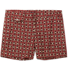 Incotex Short-Length Printed Swim Shorts