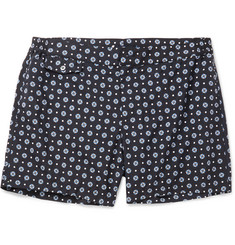 Incotex Short-Length Floral-Print Swim Shorts