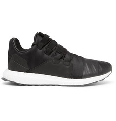 Y-3 Kozoko Leather-Trimmed Neoprene Sneakers