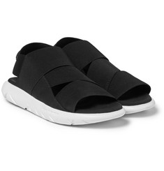 Y-3 Qasa Stretch-Webbing Sandals