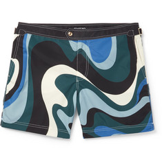 TOM FORD Mid-Length Printed Swim Shorts