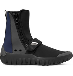 Prada Colour-Block Neoprene Boots