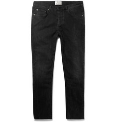 Acne Studios Town Slim-Fit Cropped Stretch-Denim Jeans