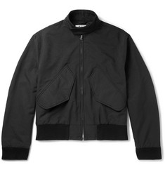 Acne Studios Mito Brushed-Twill Harrington Jacket