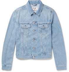 Acne Studios Who Slim-Fit Washed-Denim Jacket