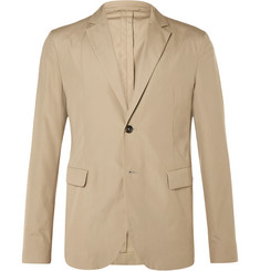 Acne Studios Beige Antibes Slim-Fit Cotton Suit Jacket