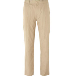 Acne Studios Beige Boston Slim-Fit Cotton Suit Trousers