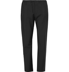 Acne Studios - Ari Slim-Fit Drawstring Wool and Mohair-Blend Trousers