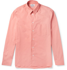Acne Studios York Slim-Fit Stretch-Cotton Poplin Shirt
