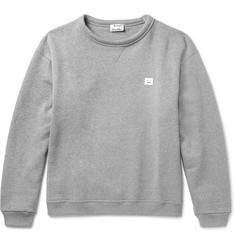 Acne Studios Fint Fleece-Back Cotton-Jersey Sweatshirt