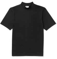 Acne Studios Fons Cotton-Jersey Mock-Neck T-Shirt