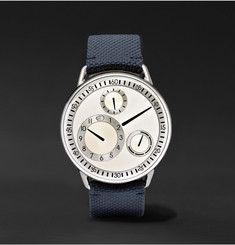 Ressence - Type 1 Mechanical 42mm Titanium and Woven Watch
