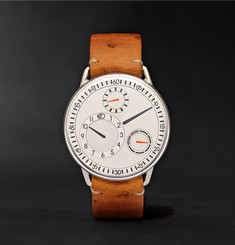 Ressence Type 1 Mechanical 42mm Titanium and Ostrich Watch