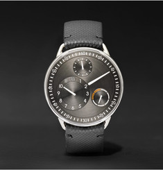 Ressence Type 1 R 40mm Titanium and Leather Watch