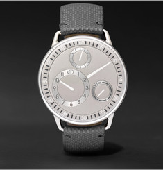 Ressence Type 1 CH Titanium and Leather Watch