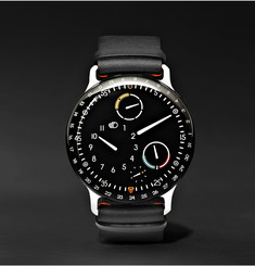 Ressence Type 3 44mm Titanium and Leather Watch