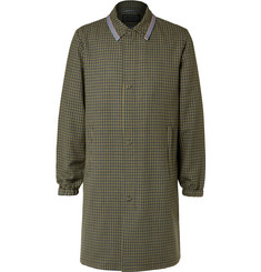 Prada - Checked Wool Coat