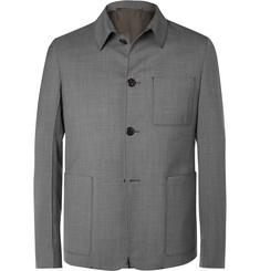 Prada - Slim-Fit Wool-Sharkskin Jacket