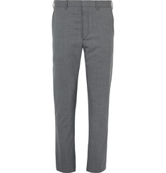 Prada Slim-Fit Virgin Wool-Blend Trousers