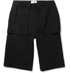 Public School Mono Wide-Leg Cotton Shorts