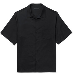 Alexander Wang Appliquéd Silk Shirt