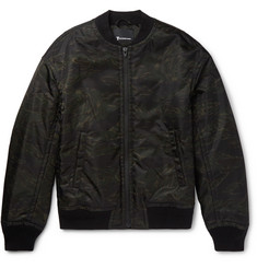 Alexander Wang Camouflage-Print Shell Bomber Jacket