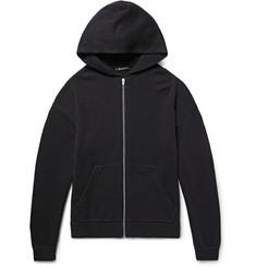 Alexander Wang - Wool and Cashmere-Blend Zip-Up Hoodie