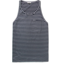 Lanvin Striped Cotton-Jersey Tank Top