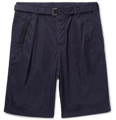 Sacai Canvas-Trimmed Cotton Shorts
