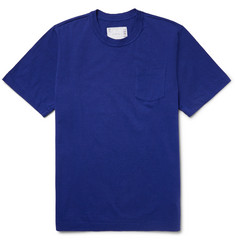 Sacai Slim-Fit Cotton-Jersey T-Shirt