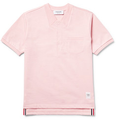 Thom Browne - Embroidered Cotton-Jersey T-Shirt