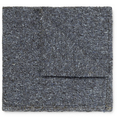 Marwood Slub Silk Pocket Square