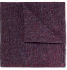 Marwood - Slub Silk Pocket Square