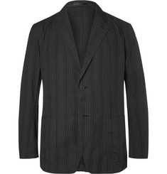 Issey Miyake Men - Black Slim-Fit Unstructured Cotton Blazer