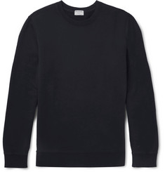 FRAME Loopback Cotton-Jersey Sweatshirt
