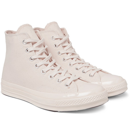 Billede af 1970s Chuck Taylor All Star Canvas High-top Sneakers - Ecru