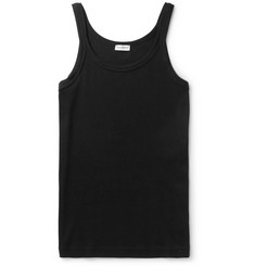 Dolce & Gabbana Ribbed Stretch-Cotton Jersey Tank Top