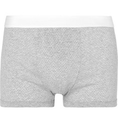 Dolce & Gabbana Printed Cotton-Jersey Boxer Briefs
