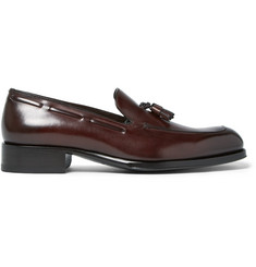 TOM FORD Edgar Leather Tasselled Loafers