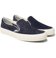 TOM FORD - Cambridge Suede Slip-On Sneakers