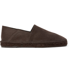 TOM FORD Full-Grain Nubuck Espadrilles