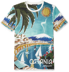 Dolce & Gabbana - Printed Cotton T-Shirt