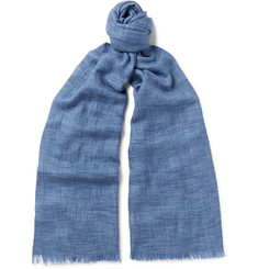Loro Piana - Brina Mélange Cashmere and Silk-Blend Scarf