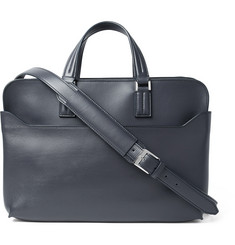 Loro Piana Textured-Leather Briefcase
