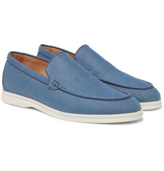 Loro Piana - Summer Walk Linen Loafers
